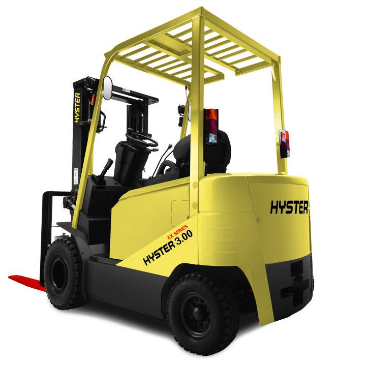 东莞市全新海斯特3吨平衡重式电动叉车出租【价格 价格一览表 多少钱一个月】