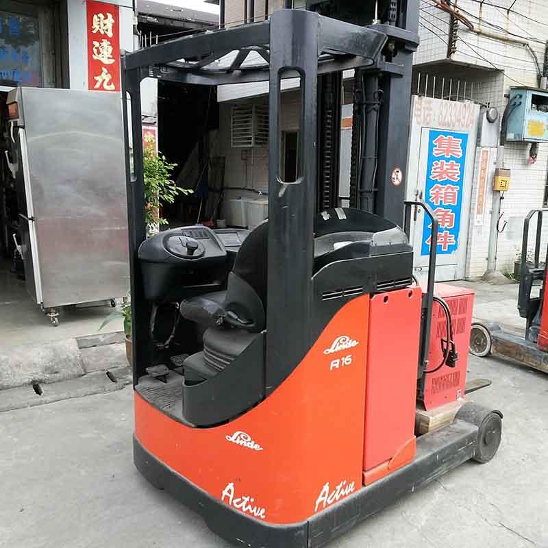东莞市林德1.6吨座驾前移式电动叉车出租【价格 价格一览表 多少钱一个月】