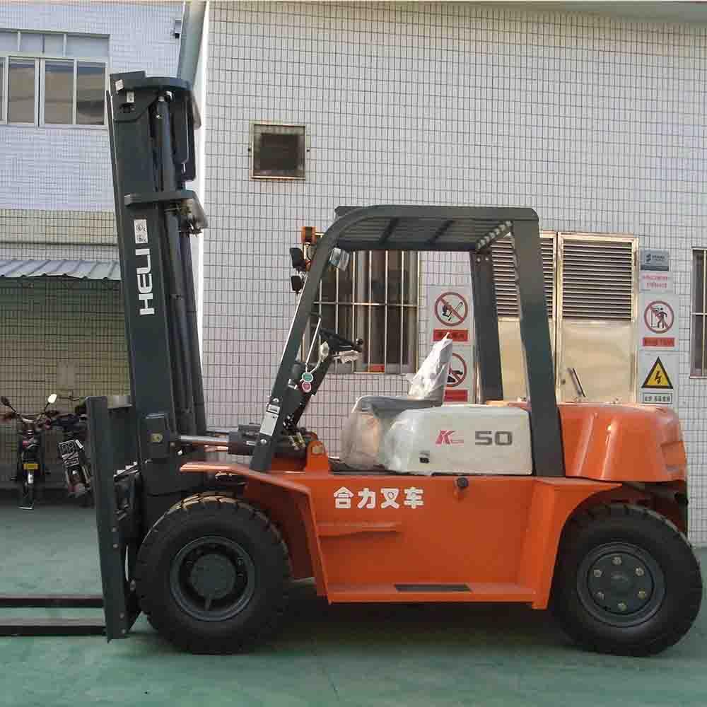 东莞市二手合力5吨平衡重式柴油叉车出租