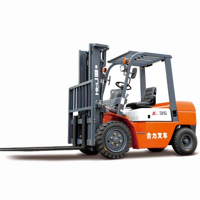 东莞市合力3.5吨平衡重式柴油叉车出租【价格 价格一览表 多少钱一个月】
