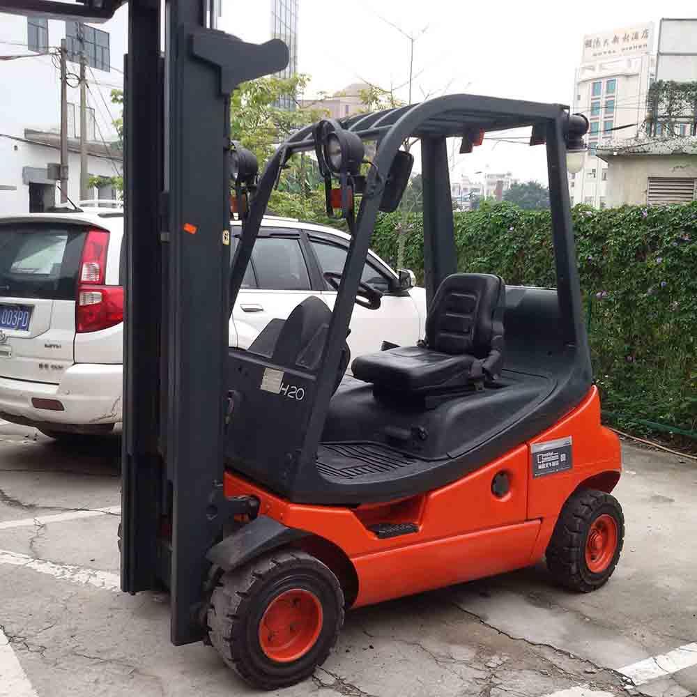 东莞市林德2吨平衡重式柴油叉车出租【价格 价格一览表 多少钱一个月】