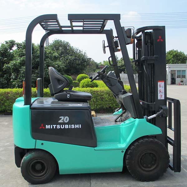 东莞市二手三菱2吨平衡重式电动叉车出租