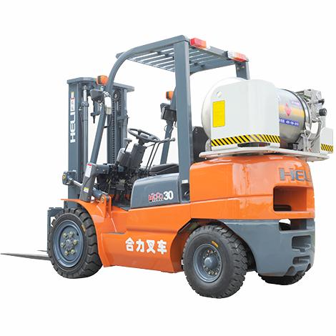 东莞市合力3吨平衡重式液化汽油叉车出租【价格 价格一览表 多少钱一个月】