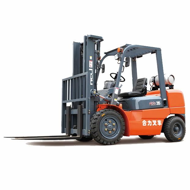东莞市合力3.5吨平衡重式液化汽油叉车出租【价格 价格一览表 多少钱一个月】