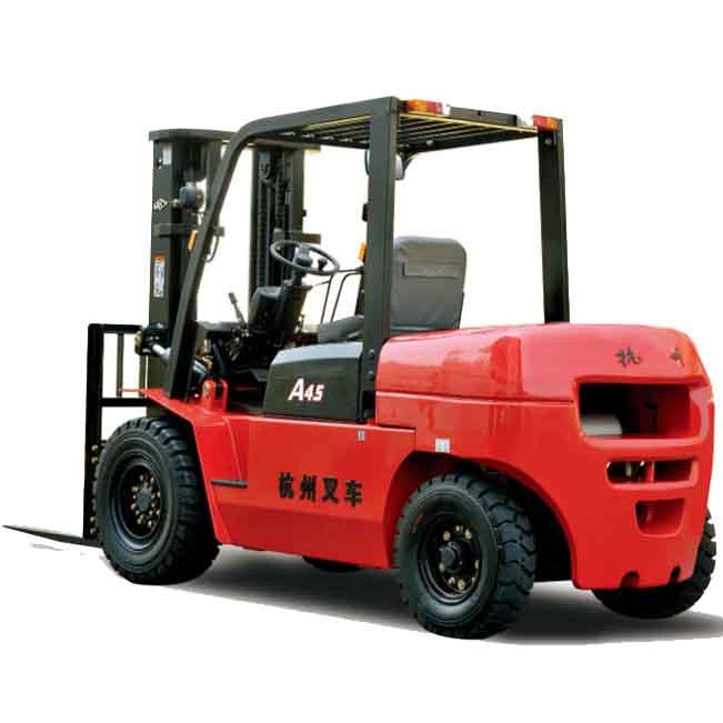 东莞市杭叉4.5吨平衡重式柴油叉车出租【价格 价格一览表 多少钱一个月】