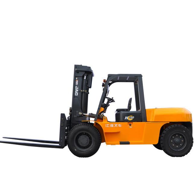 江淮10吨平衡重式柴油叉车