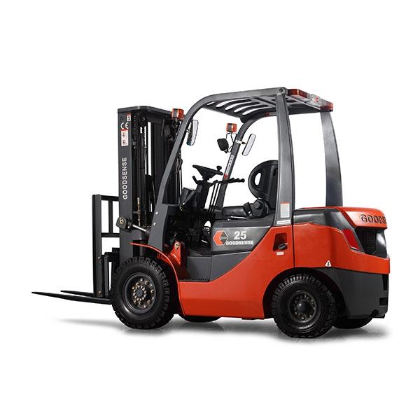 东莞市吉鑫祥2.5吨平衡重式柴油叉车出租【价格 价格一览表 多少钱一个月】