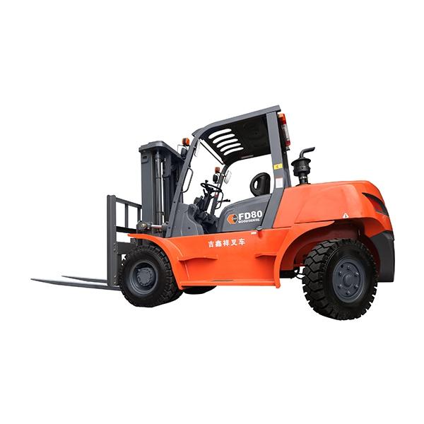 东莞市吉鑫祥8吨平衡重式柴油叉车出租【价格 价格一览表 多少钱一个月】