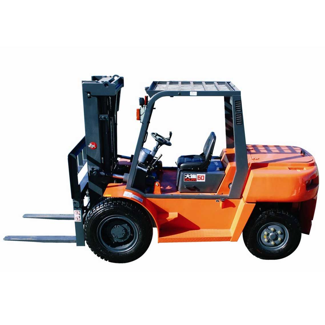 全国大连6吨平衡重式柴油叉车出租【价格 价格一览表 多少钱一个月】