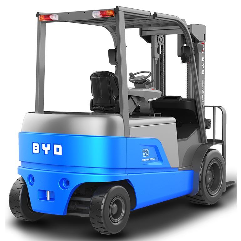 东莞市比亚迪5吨平衡重式电动叉车出租【价格 价格一览表 多少钱一个月】