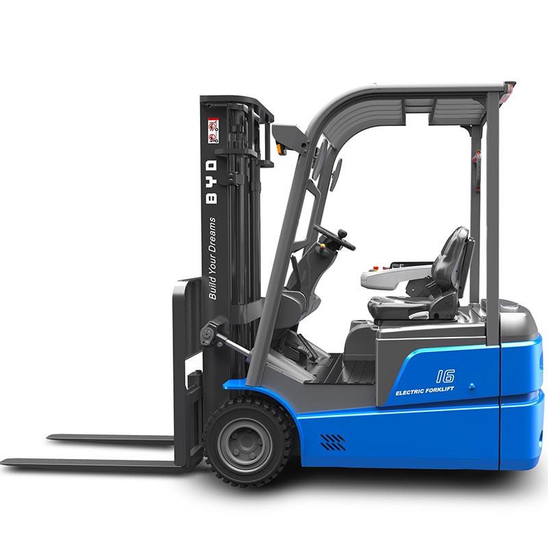 东莞市比亚迪1.6吨平衡重式电动叉车出租【价格 价格一览表 多少钱一个月】