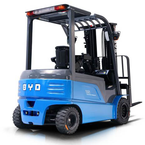东莞市比亚迪3.5吨平衡重式电动叉车出租【价格 价格一览表 多少钱一个月】