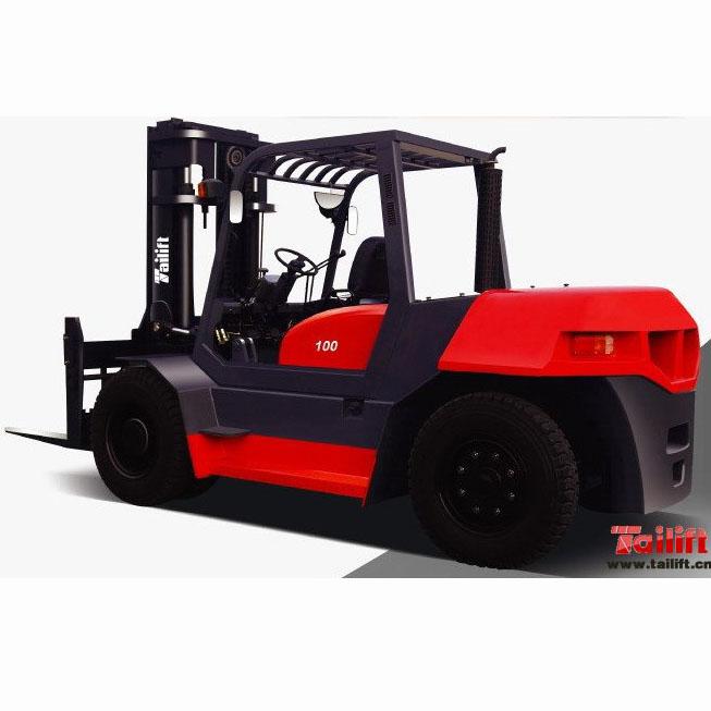 东莞市台励福10吨平衡重式柴油叉车出租【价格 价格一览表 多少钱一个月】