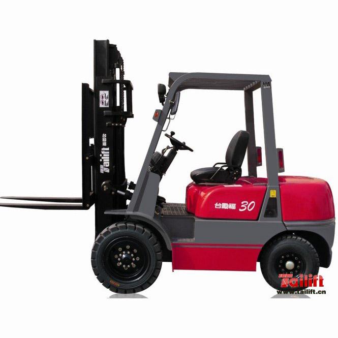 台励福3吨平衡重式柴油叉车