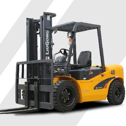 东莞市柳工4吨平衡重式柴油叉车出租【价格 价格一览表 多少钱一个月】