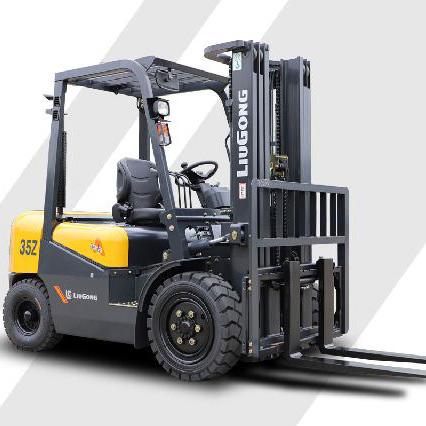 东莞市柳工3.5吨平衡重式柴油叉车出租【价格 价格一览表 多少钱一个月】