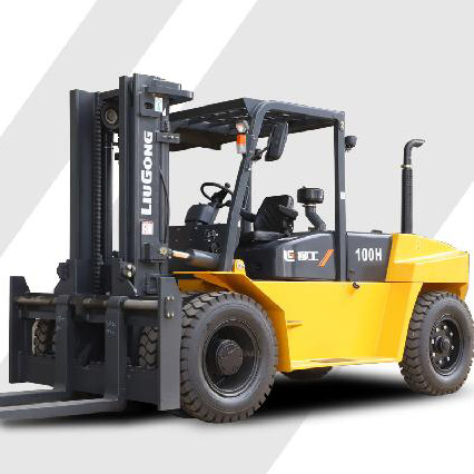 柳工10吨平衡重式柴油叉车