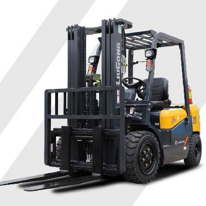 柳工3吨平衡重式柴油叉车