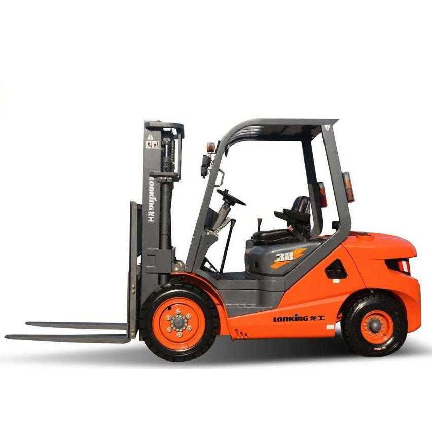 东莞市龙工3吨平衡重式柴油叉车出租【价格 价格一览表 多少钱一个月】