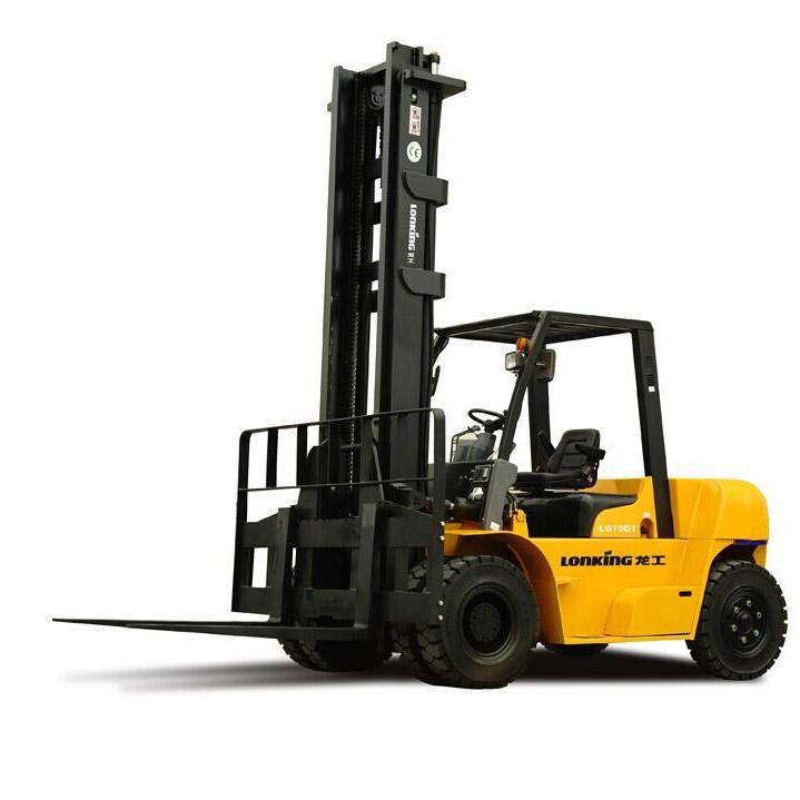 龙工7吨平衡重式柴油叉车