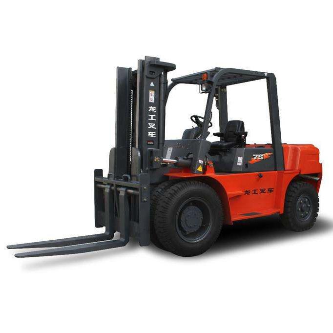 东莞市龙工7.5吨平衡重式柴油叉车出租【价格 价格一览表 多少钱一个月】