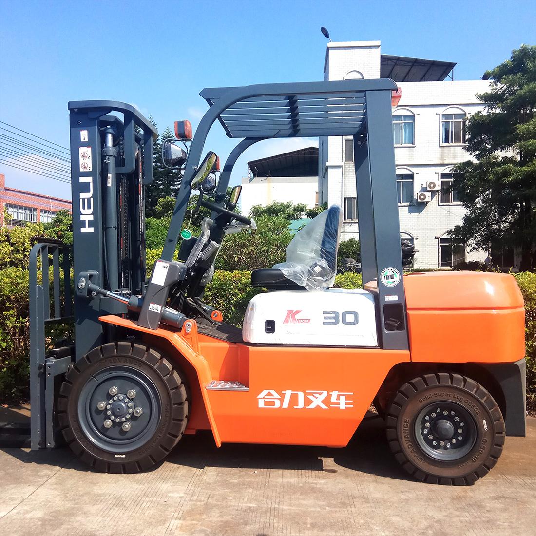 东莞市二手全新合力3吨标准柴油叉车出租