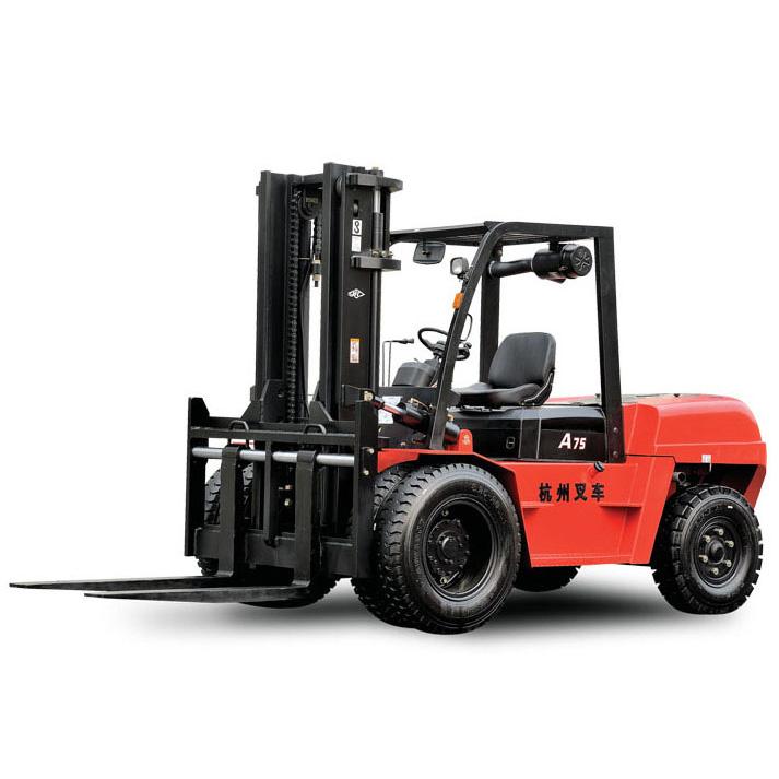 全国二手杭州叉车7.5吨平衡重式柴油叉车出租