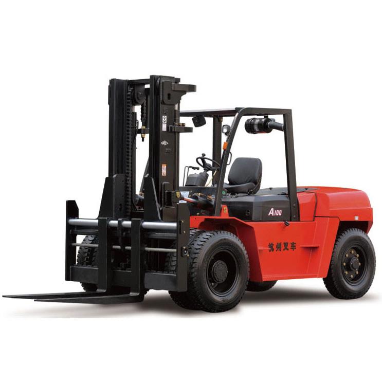 杭州叉车10吨平衡重式柴油叉车